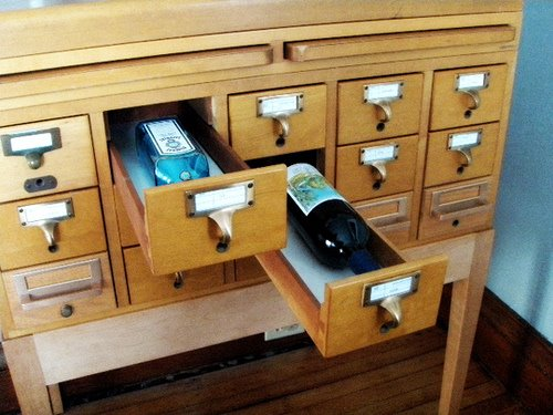 Card Catalog wine bar
